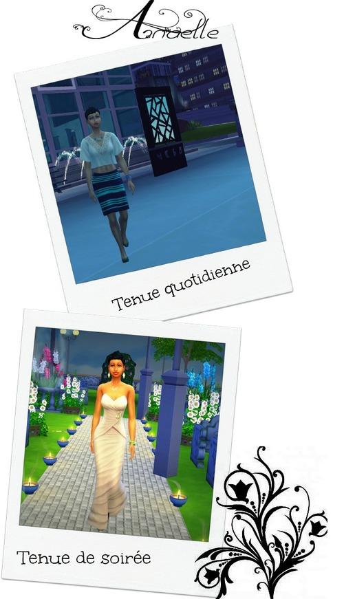 Les Sims 4 Anaëlle Daniel