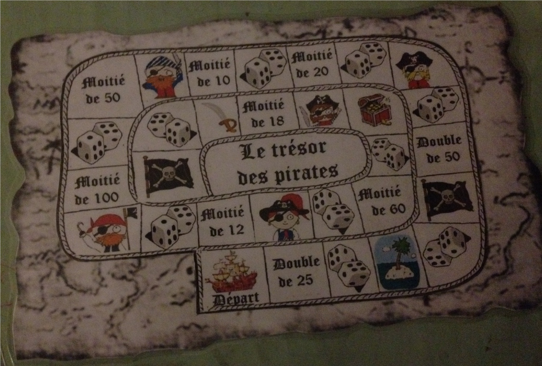 Top Travailler doubles et moitiés avec  le trésor des pirates - PL22