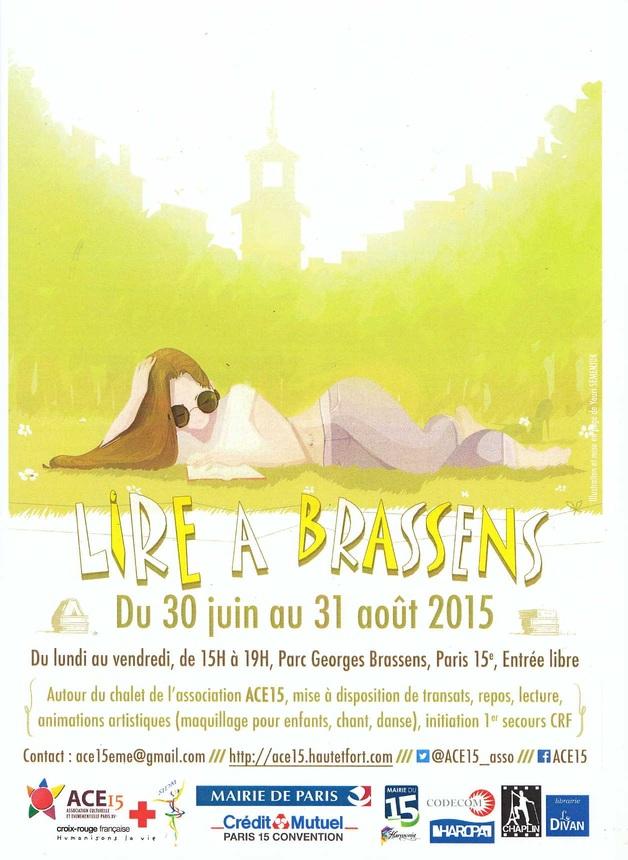 Paris... Parc Georges Brassens (15ème) une animation !