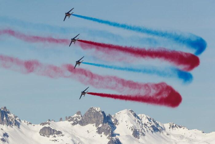 La patrouille de France à Méribel - Savoie
