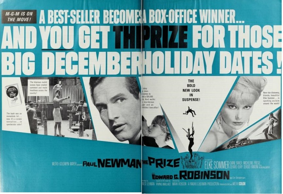 THE PRIZE BOX OFFICE USA 1964