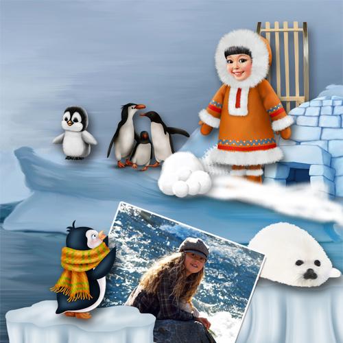 January at North Pole