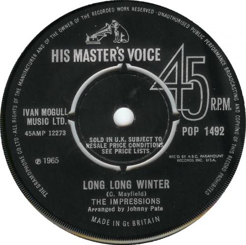 1964 : Single SP ABC Paramount Records ABC 10602 [ US]