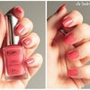 Rose coral - 444 - collection Satin nail lacquer - KIKO