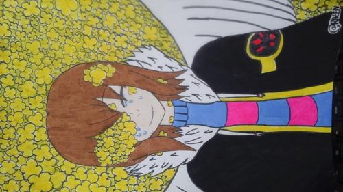 [Dessin] FlowerFell Frisk <3