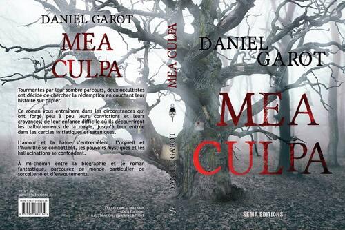 #couverture de Mea Culpa de Daniel Garot  @SemaEditions (sortie en septembre)