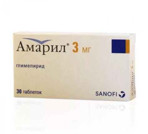Лекарство от диабета 2 типа амарил
