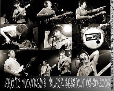 Et une Black Session! Une! Arctic Monkeys - 20 février 2006