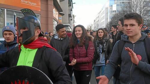 Université à Brest : la mobilisation de la filière Staps a payé (OF.fr-23/02/2018)