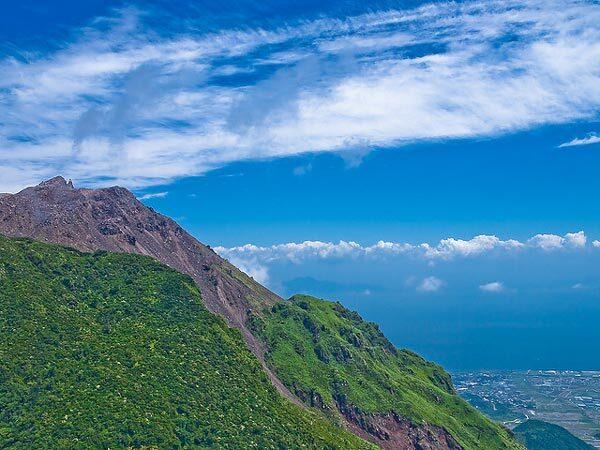 Volcan Unzen au Japon