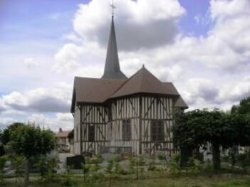 031-Eglise à pans de bois