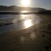 La plage de Carrare
