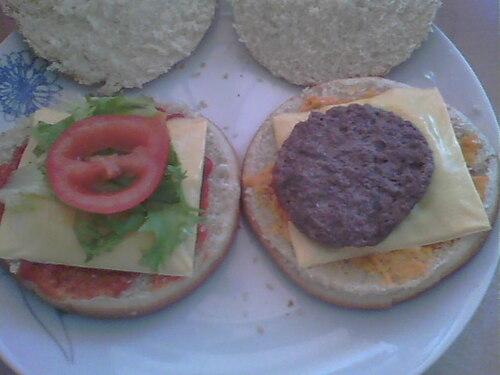 Hamburger aux steack haché