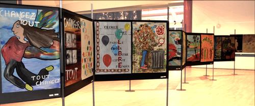 Vue de l'exposition 2018
