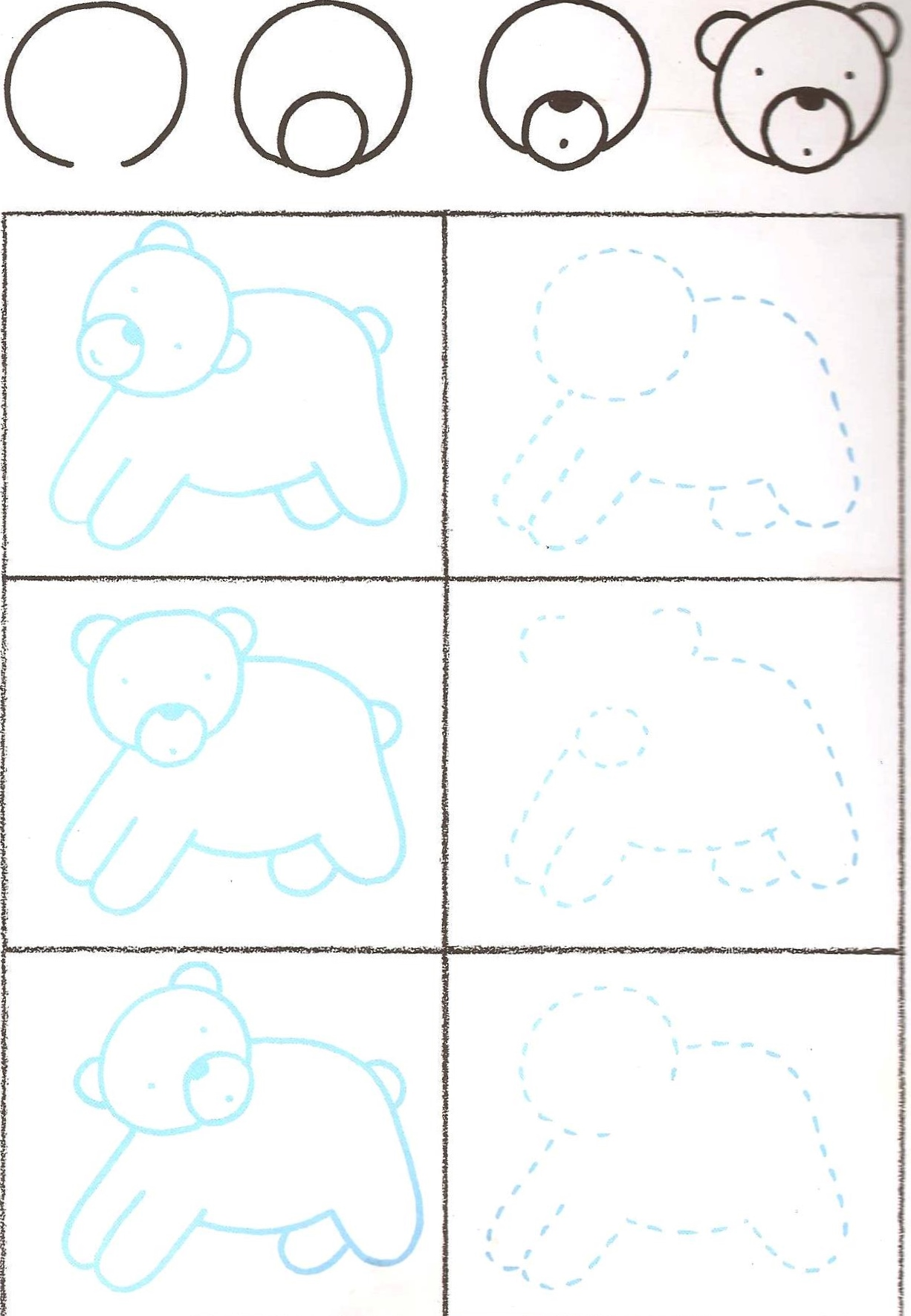 Dessiner un ours mary 39 s world - Ours a dessiner ...