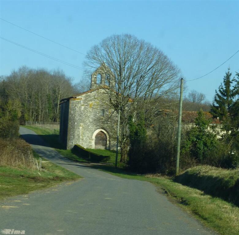 Retour vers Pougné ,Charente,