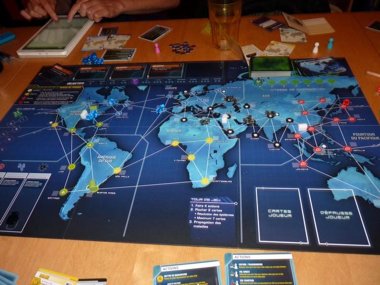 Pandémie Legacy (début mai)