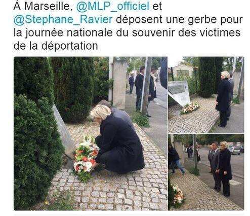 Marine Le Pen et la soumission permanente