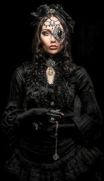 Tubes femmes gothiques création 9