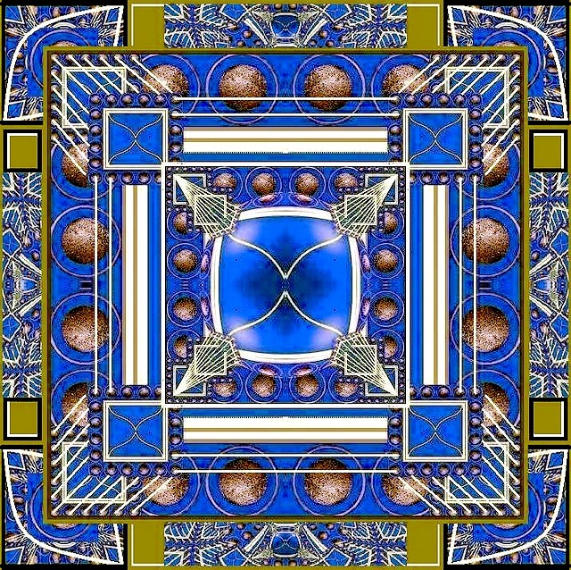 2 Mandala bleu Chronique version Marc 04 08 2012
