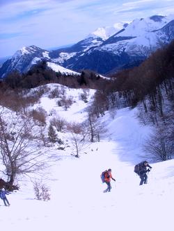 L'Eclaireur, Sergio et 2 Moules Burnes au Montagnon
