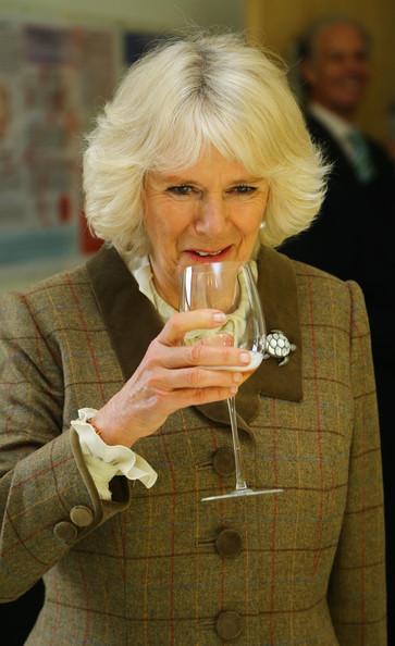 Camilla et le vin