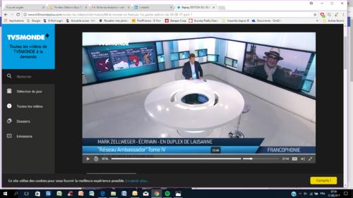 JT TV5 Monde, Mark Zellweger