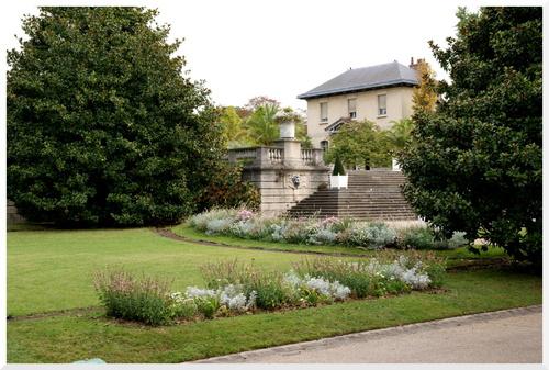 Paris. Jardin des serres d'Auteuil.