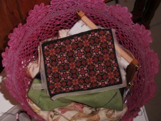 Tapis inspi floral