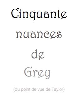 Cinquante nuances de Grey (Taylor)