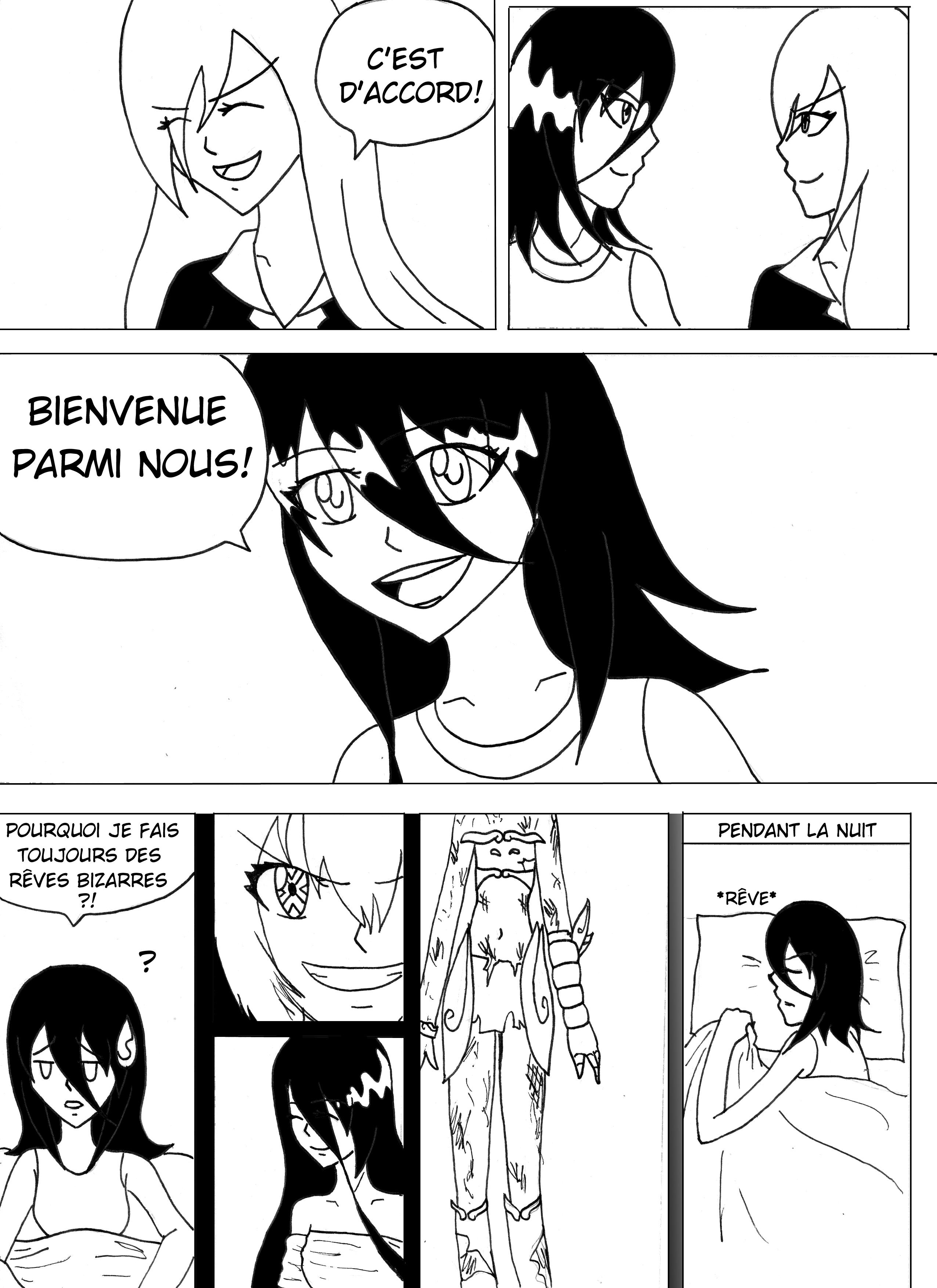 Kaijuu Kokoro - chapitre 10 & 11