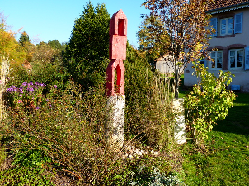 Eglise Sainte-Thérèse à Vasperviller(Rose rose)