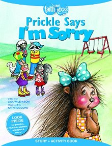 Prickle Says I'm Sorry (story and activity book)
