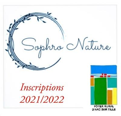 Inscription pour la sophro nature , association Foyer Rural d'Arc sur Tille