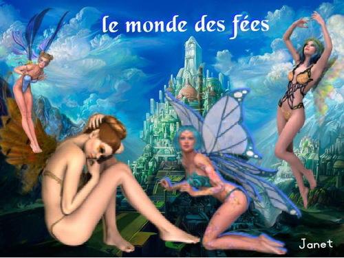 le monde des fées