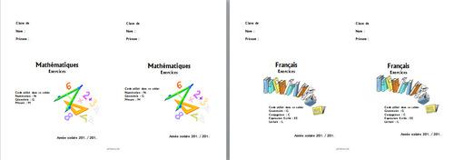 Nouvelles pages deprésentation petits cahiers...