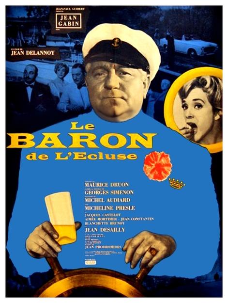 LE BARON DE L'ECLUSE - BOX OFFICE JEAN GABIN 1960
