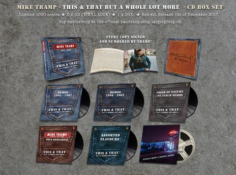 MIKE TRAMP - Sortie d'une boxset en Décembre prochain