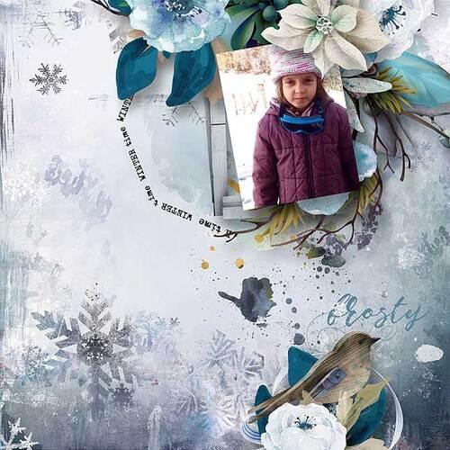 Winter wish de Florjuscrap