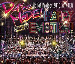 """DVDs et blurays annoncés pour la tournée """"Dance Mode & Happy Emotion"""" !"""