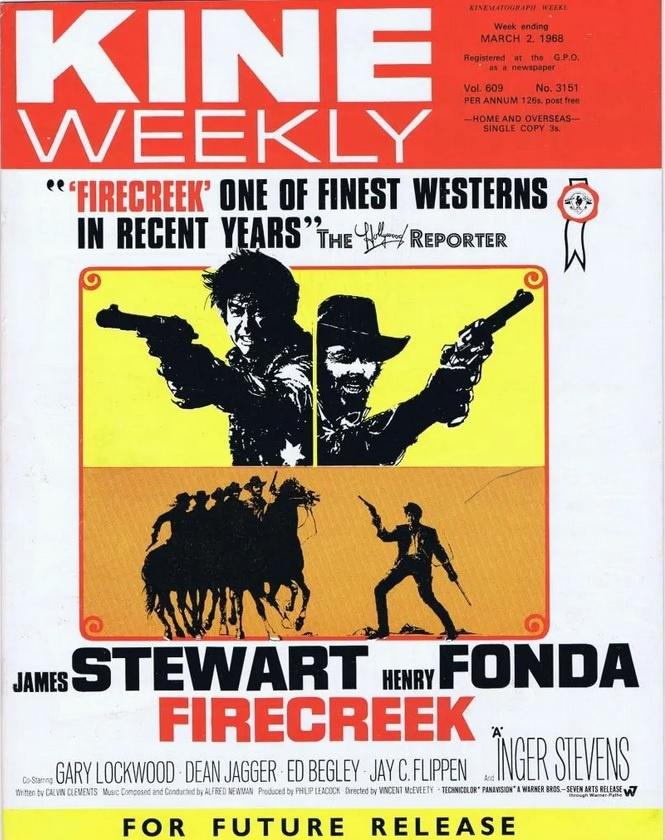 FIRECREEK BOX OFFICE USA 1968