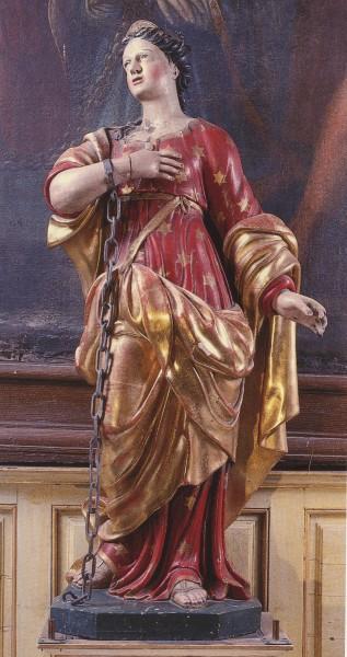 Sainte Reine. Martyre à Alésia, en Côte d'Or († 252)