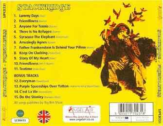 Chefs d'oeuvre oubliés # 44: Stackridge - Friendliness (1972)