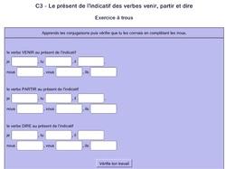Conjugaison : s'évaluer sur le présent de l'indicatif