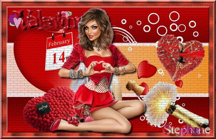 le temps des défi Princesse chanel en partage et Kikoonette saint valentin