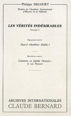 L'imposture de Pasteur