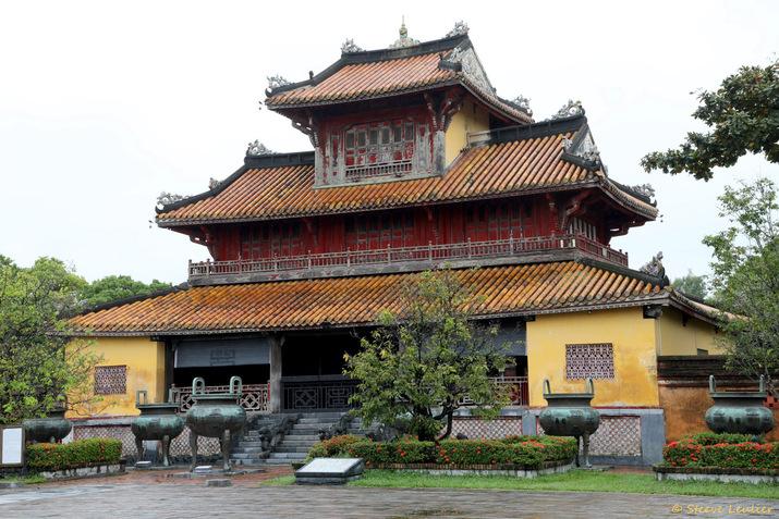 Cité impériale : pavillon de la Spendeur bienveillante venant d'En-Haut