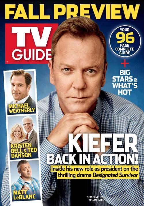 Kiefer Sutherland de retour dans Designated Survivor