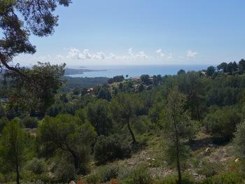 Panorama pendant la descente