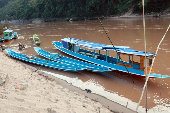 Hat Sa village de pêcheurs laos